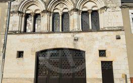 Church in Saint-Benoît-sur-Loire, Loiret, Centre-Val de...