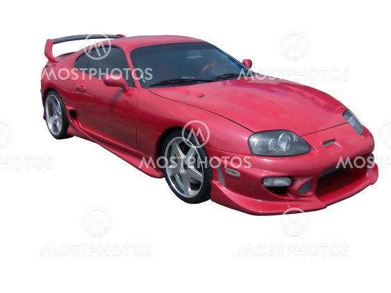 Red Hot Toyota Supra