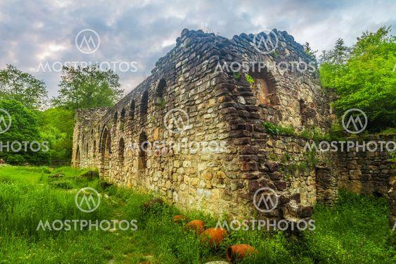 Ikalto cathedral in Georgia
