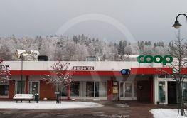 Vy från Tenhults centrum i Småland (Sweden)