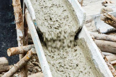 Concrete pouting