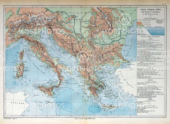 Gammal Karta Italien.Gammal Karta Italien Turki Av Michael Roberts Mostphotos