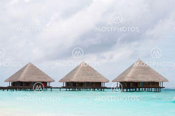 Water Villas in The Ocean