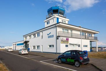 Strausberg Airport Terminal and Tower in Germany