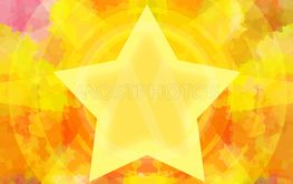 Burning star background