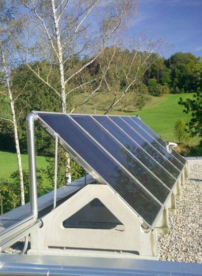 Sonnenkollektor | solar panel