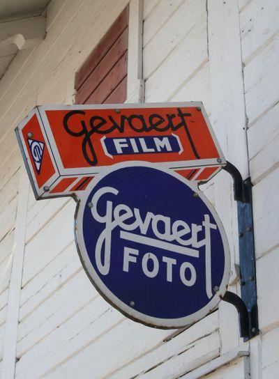 Gevaert Film and Foto sign